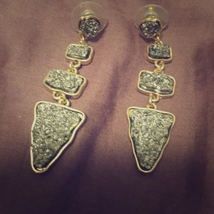 Baublebar druzy earrings